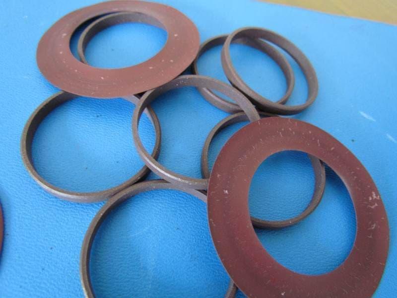 四氟铜粉耐磨环