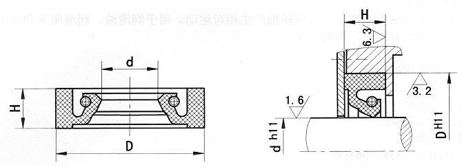 HG4-338-66标准J型油封