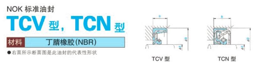台湾进口TCN型和TCV型耐压油封