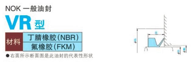 日本NOK品牌V型旋转水封