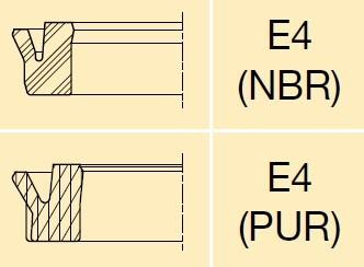 派克E4气缸密封圈