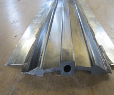 钢边式橡胶止水带300*10mm