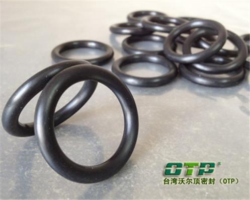 耐磨耐油黑色橡胶密封圈