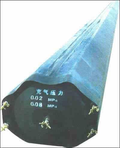 双层八角橡胶充气芯模