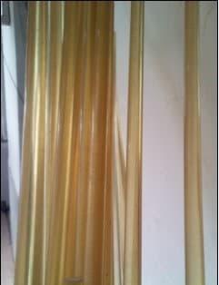 黄色透明PES棒材