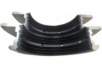 叶轮挤出成型、注塑成型、模压成型、机械加工成型