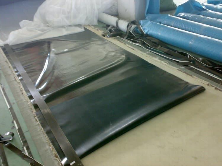 夹布橡胶板